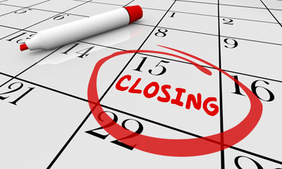 Contingent Closings